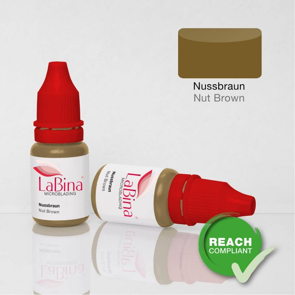 Nussbraun Microblading Farbe / Nut Brown Pigment Ink [MB]