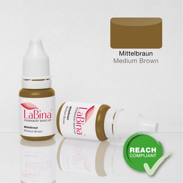 Mittelbraun Pigmentierfarbe / Medium Brown Pigment Ink [PMU]